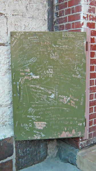 Prison Graffiti 2 Poster