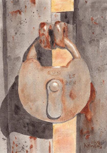 Prison Lock Poster