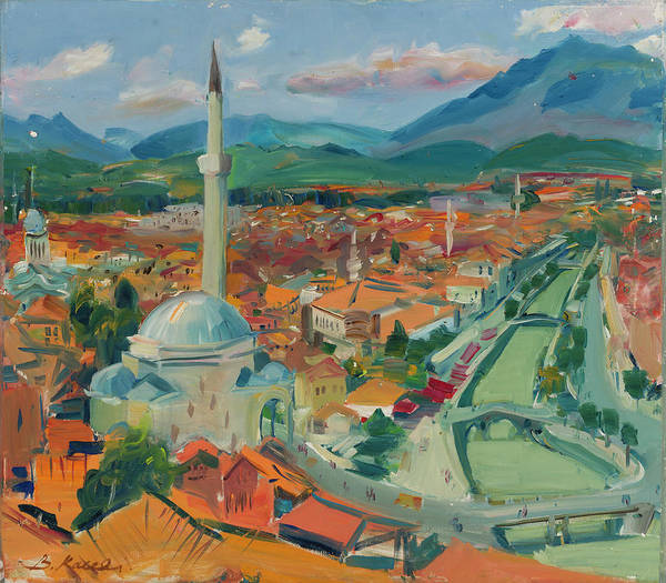 Prizren From Above, Kosovo Poster