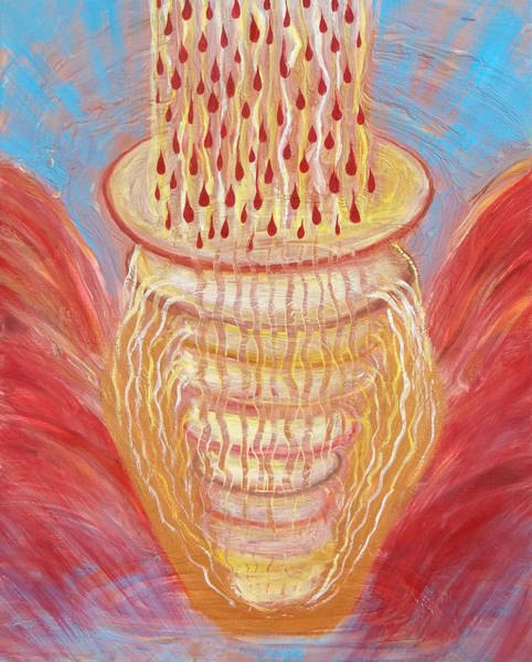 Prophetic Message Sketch Painting 24 New Wineskins Poster