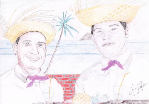 Puertorican Friends Poster