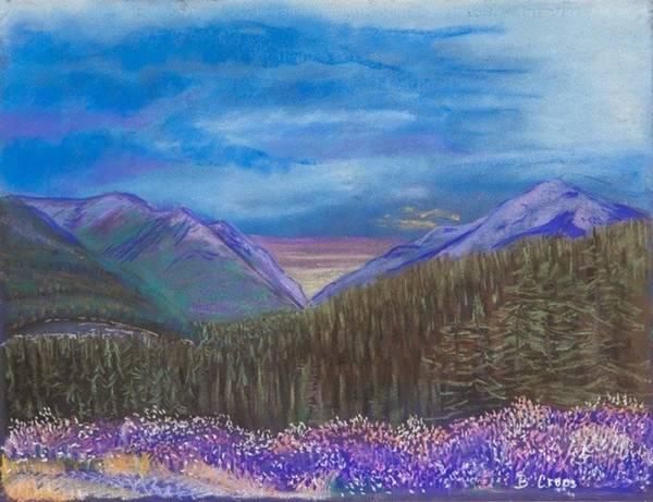 Purple Alaska Poster