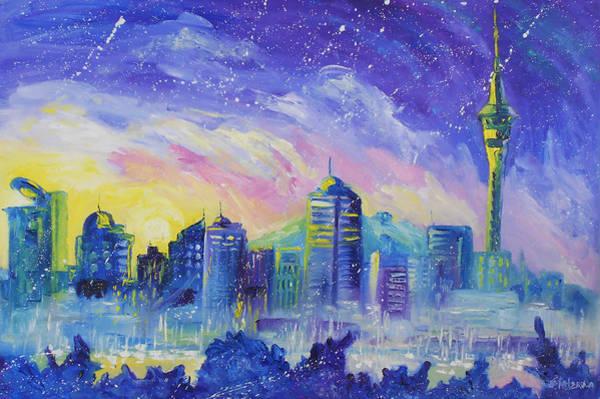 Purple City Poster