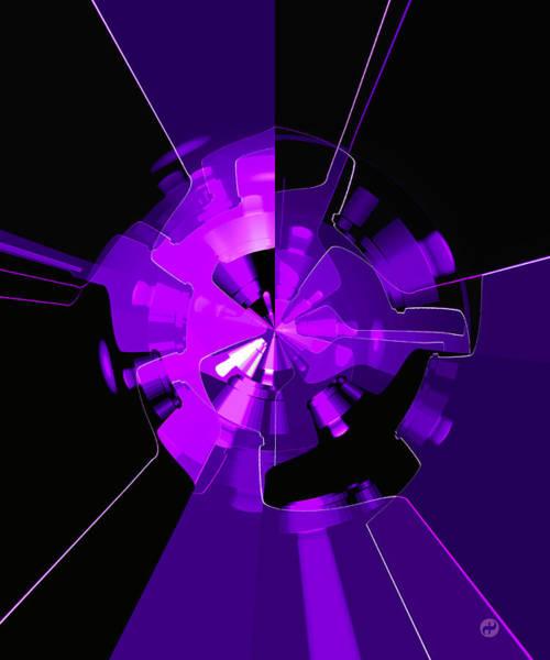 Purple Haze Wheels Poster
