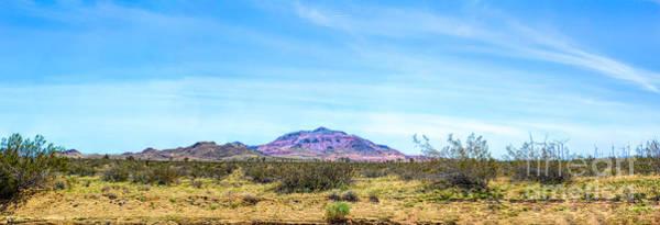 Purple Mountain Panoramic Poster