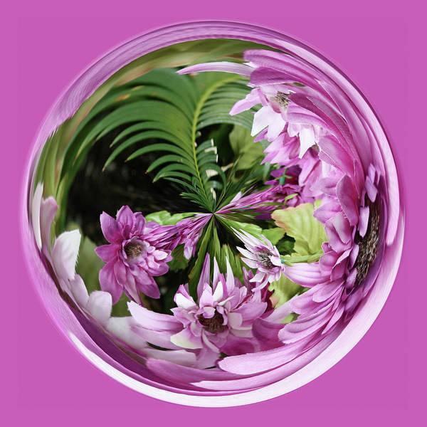 Purple Orb Poster