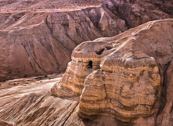 Qumran Cave 4, Israel Poster