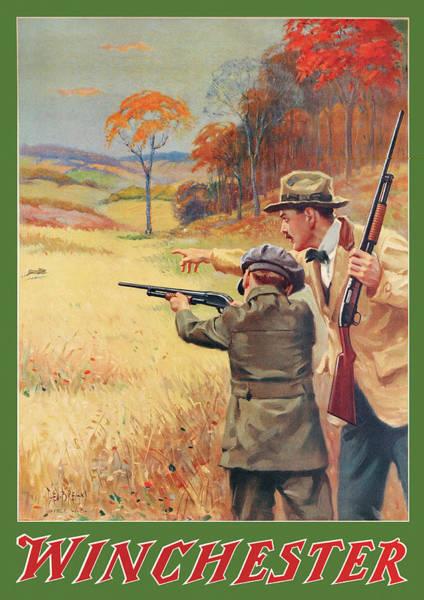 Rabbit Hunting Poster