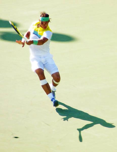 Rafael Nadal Shadow Play Poster