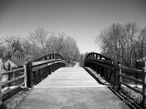 Rail Trail Bridge, Newburyport, Massachusetts Poster
