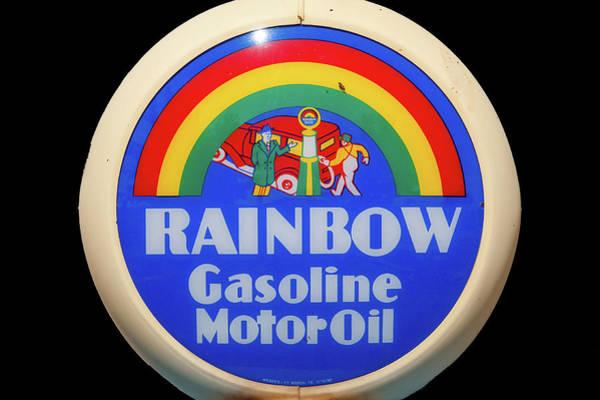 Rainbow Gasoline Poster