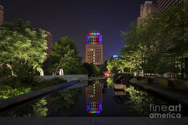 Rainbow Lights Poster
