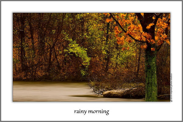 Rainy Morning Poster