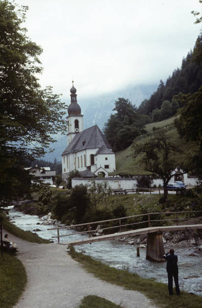 Ramsau Church Poster