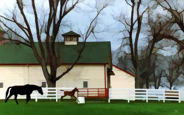 Poster featuring the photograph Ramsey Farm by Sam Davis Johnson