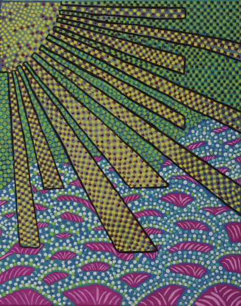 Rays On Kapoho Poster