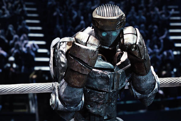 Real Steel Atom Poster