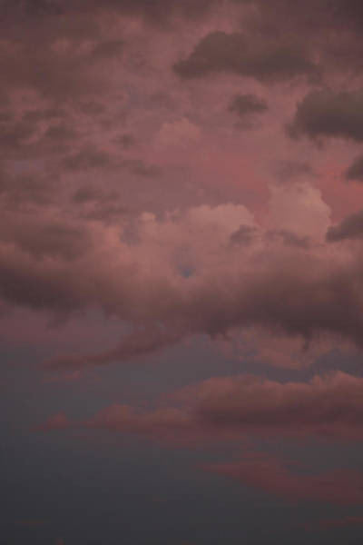 Poster featuring the photograph Red Clouds Iv by Dylan Punke