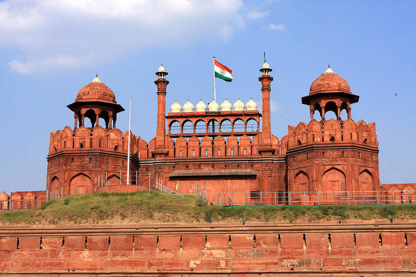 Red Fort New Delhi Poster