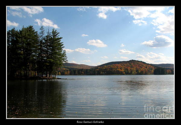 Red House Lake Allegany State Park Ny Poster