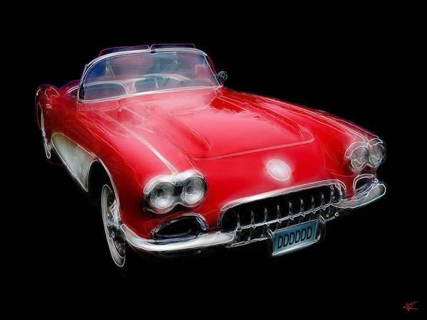 Redvette Poster