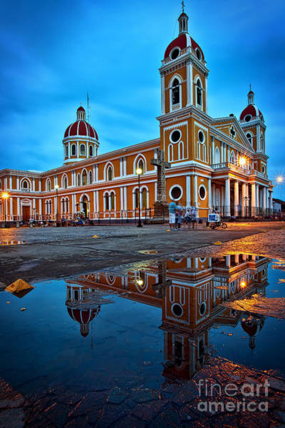 Reflections Of Granada, Nicaragua  Poster