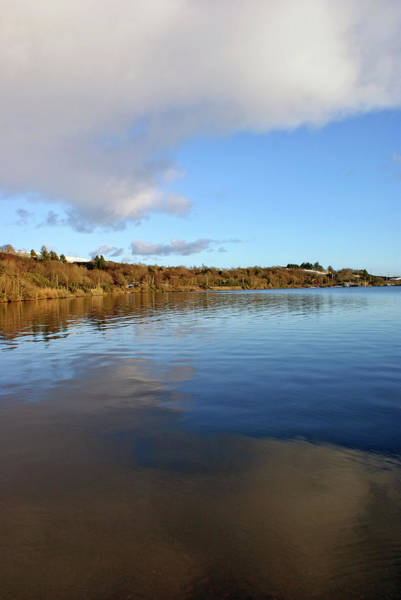 Reflections On Lough Fea. Poster