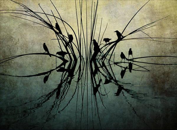 Reflective Grunge Poster