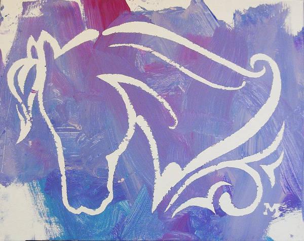 Regal Horse Poster