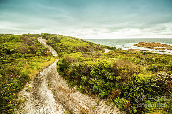 Remote Australia Beach Trail Poster