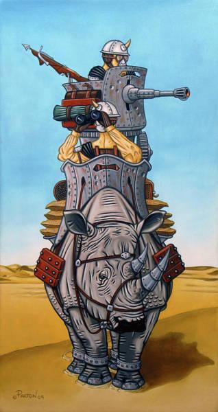 Rhinoceros Riders Poster