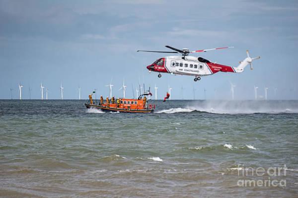 Rhyl Air Sea Rescue Poster