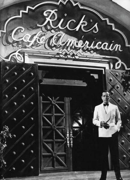 Ricks Cafe Americain Casablanca 1942 Poster