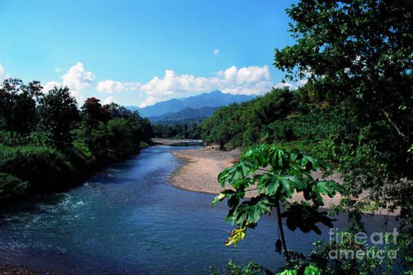 Rio Grande And Blue Mountain Poster