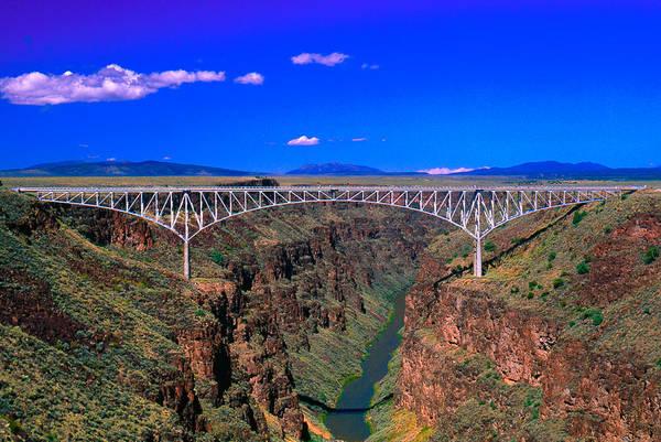 Rio Grande Gorge Bridge Taos County Nm Poster