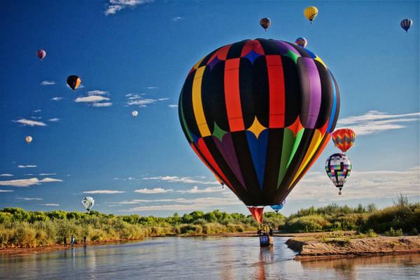 Rio Grande Splash Down, New Mexico Poster