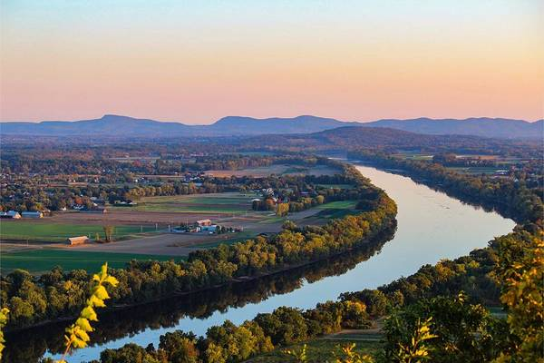 Connecticut River View  Poster