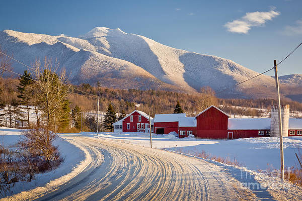Road To Mount Mansfield Poster