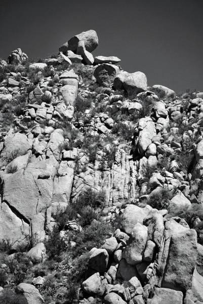 Rock Face Sandia Mountain Poster