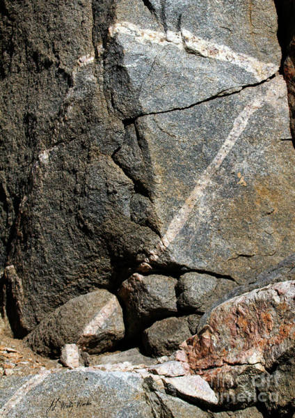 Rock Patterns-signed-#9753 Poster