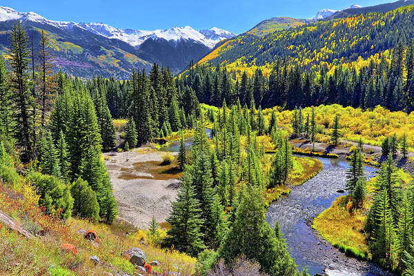 Rockies And Aspens - Colorful Colorado - Telluride Poster