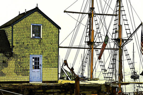 Rockport Harbor Poster