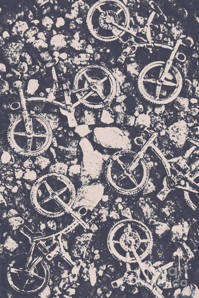 Rocky Mountain Bike Trail Poster