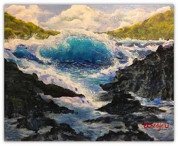 Rocky Sea Poster