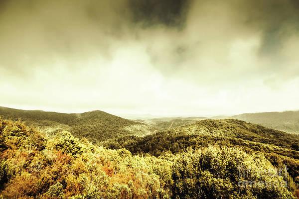 Rolling Hills Of The Tarkine, Tasmania Poster