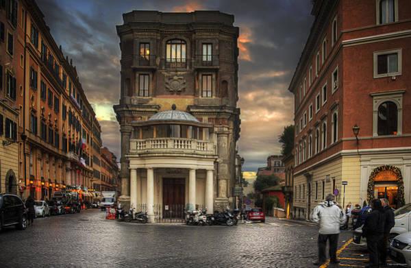 Roman Streets Poster