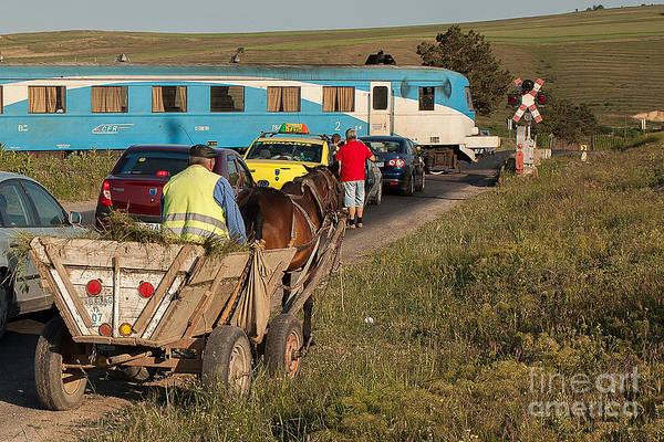Romanian Transport Poster