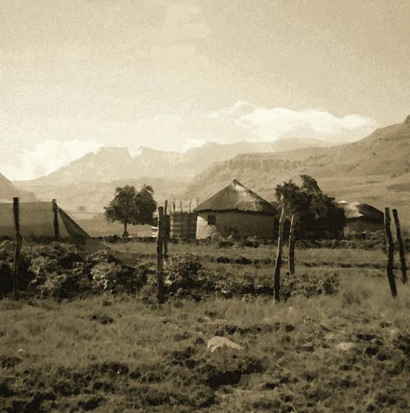 Rondavel In The Drakensburg Poster