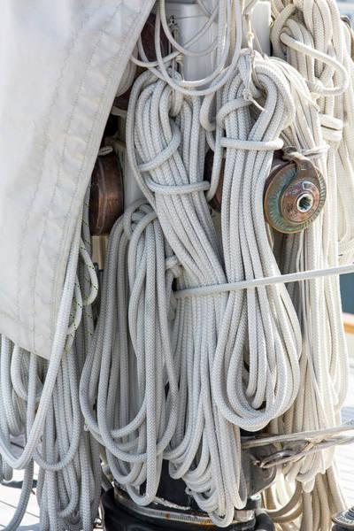 Ropes Of A Sailboat Poster