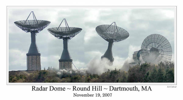 Round Hill Radar Demolition Poster